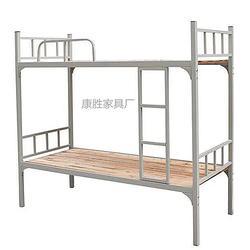 扎实员工上下铺铁架床 工厂员工铁架床 员工上下铺铁床产品图片