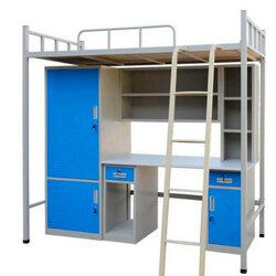 大學生宿舍組合床 大學生單人位組合床 大學生宿舍組合床及產品圖片