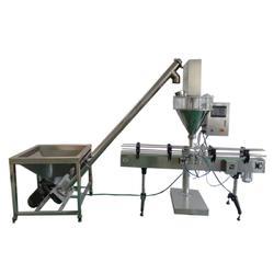 消毒粉灌裝機,全自動粉劑灌裝生產線圖片