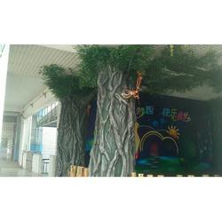 风景区人造假山-仿真假树可靠供应商-达志图片