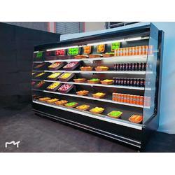 饮料酸奶水果蔬菜 恒温保鲜风幕柜 鼎好冷柜图片