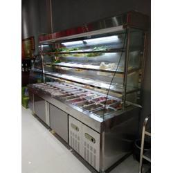 麻辣烫点菜柜 三温 展示柜 选菜柜价格