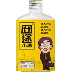 玻璃装高粱酒-实惠的高梁酒图片