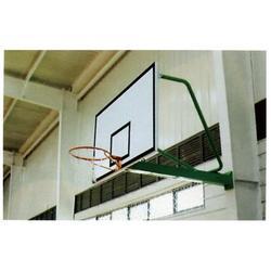 体育器材挂壁式篮球架多少钱图片