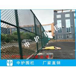 小区篮球场围栏 学校体育场围网 公园绿色勾花网图片