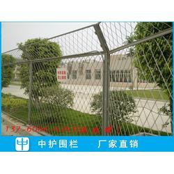 公路菱形网隔离栅 道路斜方孔护栏网 工地边框护栏价格