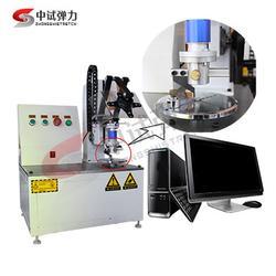100Nm-500Nm卧式电脑控制弹簧扭转试验机高分辨率精度准图片
