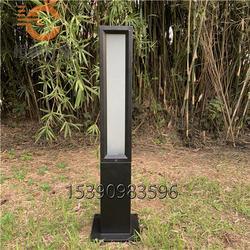 户外0.6米0.8米1米不锈钢草坪灯花园别墅立柱灯亚克力庭院灯烤漆灯柱