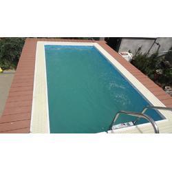 省工、省料的泳池-支架泳池图片