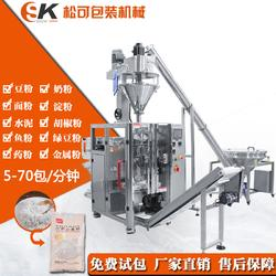 背封粉劑立式包裝機-咖啡粉劑包裝機廠家直銷圖片