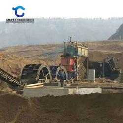 石料制砂洗砂生产线设备 定制大型四槽轮斗洗砂机图片