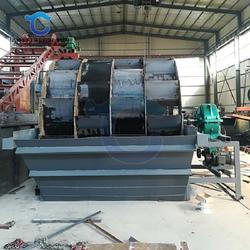 海砂洗选淡化设备直销 大型筛砂洗砂生产线生产厂家图片