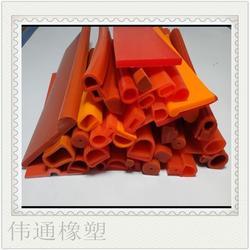双E型橡胶冷藏柜冷库门密封条专用保温、耐高低温密封条图片
