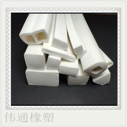 橡胶pvc 发泡耐高温优质白色密封条图片