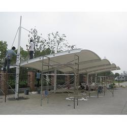 安庆膜结构车棚-安徽金梁工程公司-膜结构车棚