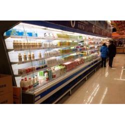 超市饮料风幕柜定做便利店酸奶冷藏柜定做图片