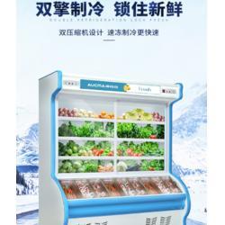 蔬菜冷藏点菜柜肉串冷冻柜定做点菜柜定做图片