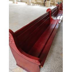 木质教会长椅销售厂家-教会长椅-丽明家具(制造精良)图片