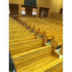 教会长椅生产-丽明家具(在线咨询)丽水教会长椅