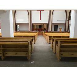 教会实木长椅尺寸-湖北教会实木长椅-丽明家具(技术丰富)图片