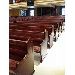 教会长椅-丽明家具(制造精良)教会长椅供应图片