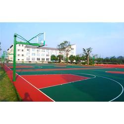 九江丙烯酸篮球场-辉跃体育-丙烯酸篮球场材料厂家图片