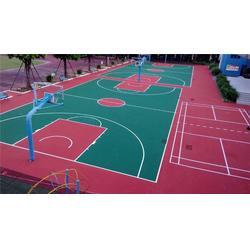 辉跃体育 塑胶篮球场铺设-宜春塑胶篮球场图片
