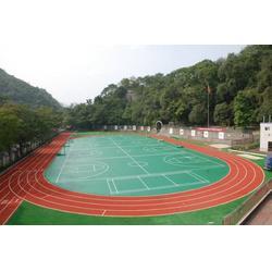 萍乡塑胶篮球场-4mm塑胶篮球场地面-辉跃体育(优质商家)图片