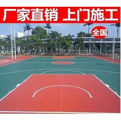 新余市仙来办事处硅PU篮球场-硅PU篮球场承包-辉跃体育图片