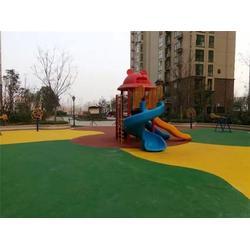 幼儿园新国标EODM地面-EPDM-辉跃电动液压篮球架图片
