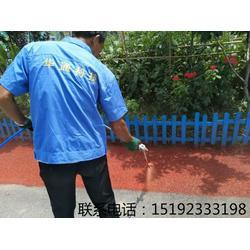 彩色沥青喷涂改色剂专业喷涂厂家图片