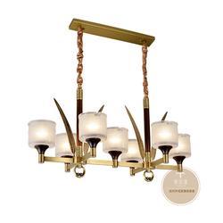 家居新中式灯具挑选要点,让家居更加温馨-铜木源灯饰图片