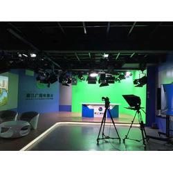 虚拟演播室全套建设,虚拟演播间 录音室装修 灯光演播室设备方案图片