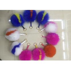 仿狐狸毛球按需定做-南宫一帆皮毛-长治毛球按需定做图片
