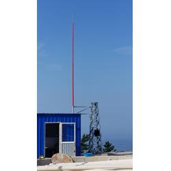 天文台专用玻璃钢避雷针,13米玻璃钢避雷针生产厂家,特制透波型21米玻璃钢避雷针