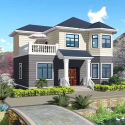 共享村落用轻钢,2020轻钢别墅推动美好乡村建设图片