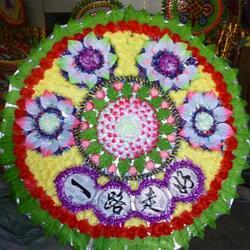 东陵花圈哪家好-哪里可以买到质量好的花圈图片