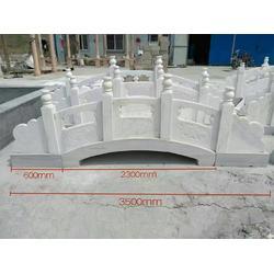 草白玉石栏杆厂商-曲阳铭隆提供的石雕栏杆好不好图片