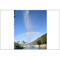 用声音就能喷的喷泉图片