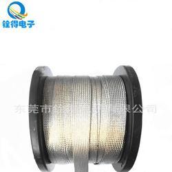 铨得供应大平方镀锡铜编织带 铜编织电缆屏蔽用软连接地线