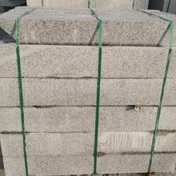 博润石材厂 S型路沿石施工-S型路沿石图片