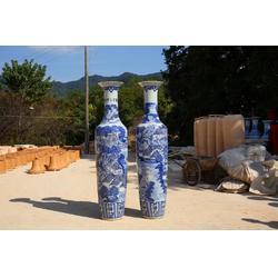 陶瓷器落地大花瓶清明上河图别墅客厅装饰摆件图片