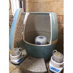 美容院家用五色六养元气缸排毒熏汗蒸瓮圣菲spa活瓷能量养生蒸缸图片