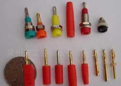 香蕉插头,香蕉插座,接线柱,测试导线,鳄鱼夹批发