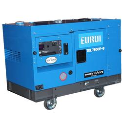 原装日本东洋柴油静音型6.5KW铁路专用发电机组TDL7500E-B图片