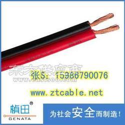 厂家直销RVB21.5平方RVB扁形红黑平行线图片