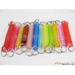 塑料彈簧掛繩圖片