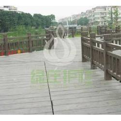 优质芜湖市绿庄公司仿木地板护栏栏杆桥梁栏杆批发图片