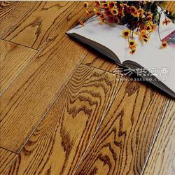 专业生产 美国红橡木实木地板 仿古手抓纹图片