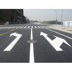 兰州指示标线-选好用的定西热熔标线就到甘肃路鑫交通设施图片